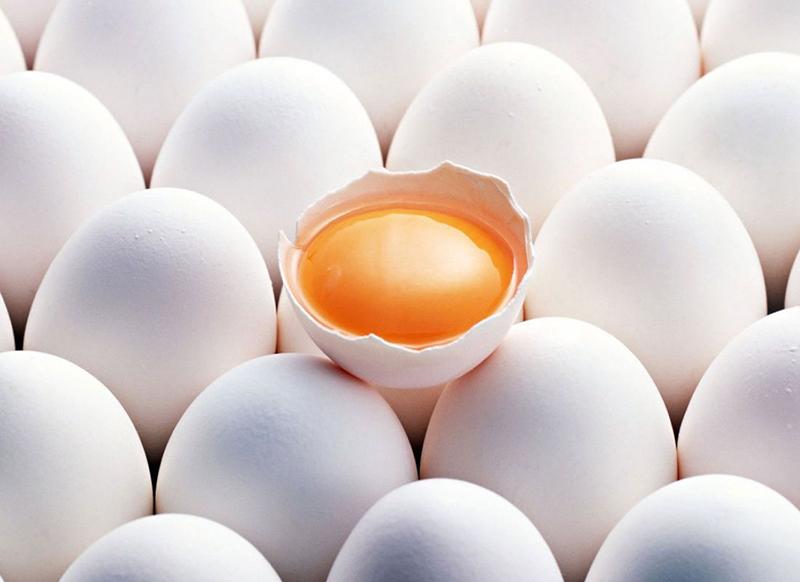 Домашние и магазинные яйца