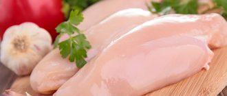 Куриное мясо грудка