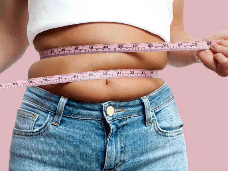 Лишний вес в девушки