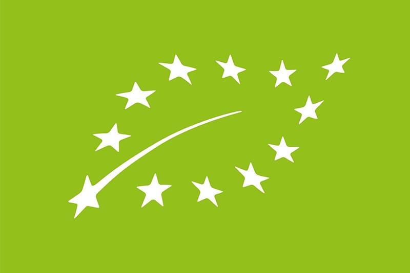 Логотип евролист на продуктах