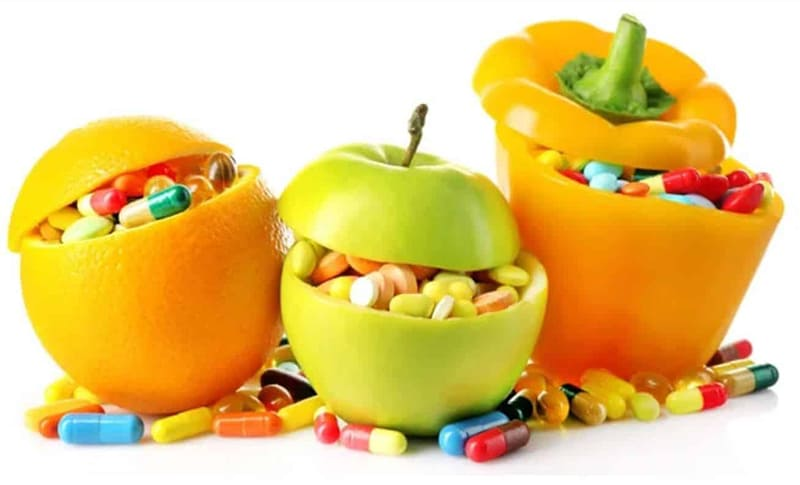 Минералы и витамины в еде