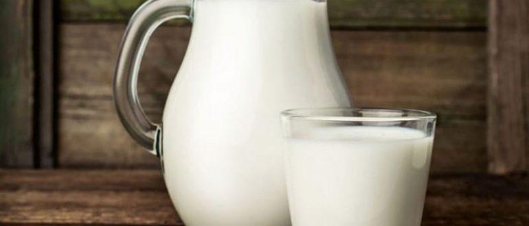 Молоко домашнее и магазинное