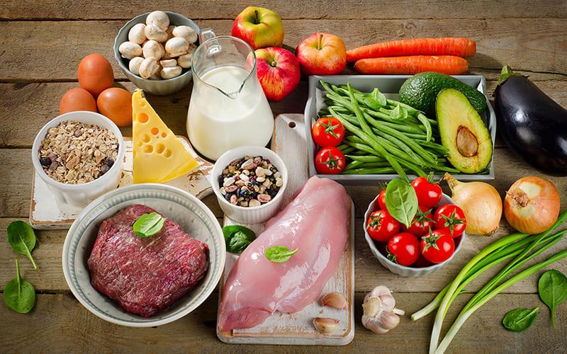 Натуральные продукты питания в РФ