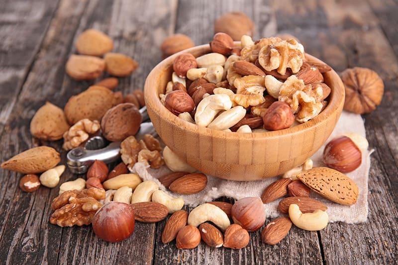 Орехи в ПП