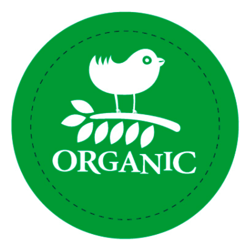 Organic значок продукты