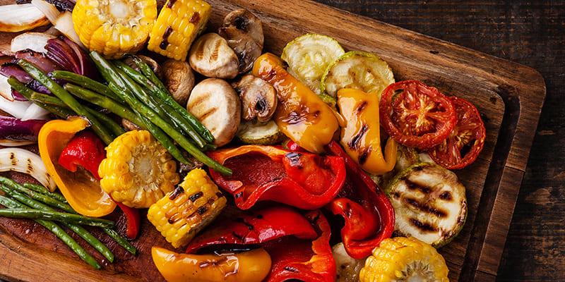 Овощи после термообработки