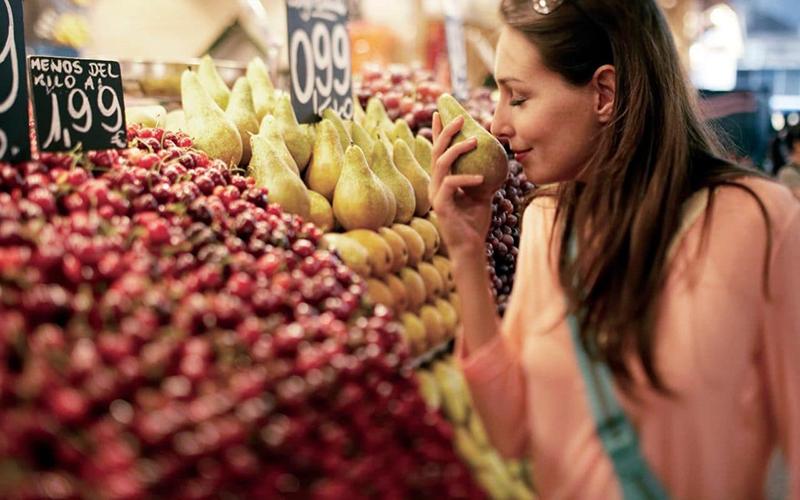 Запах продуктов питания