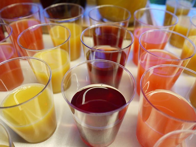 Концентрированные соки из фруктов