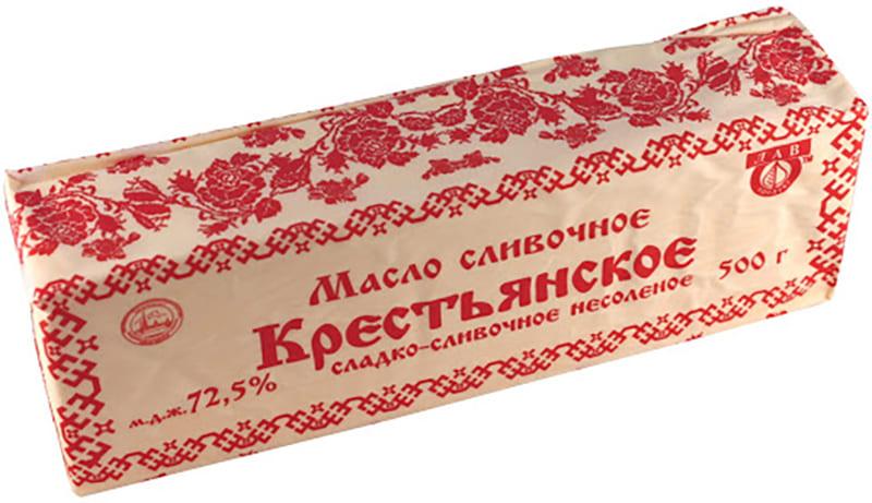 Крестьянское сливочное масло