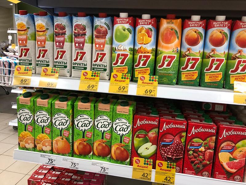 Нектар сок из фруктов