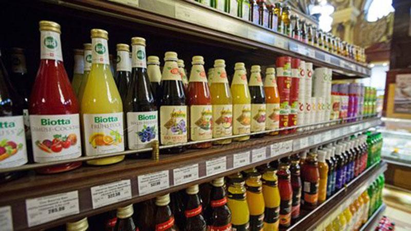 Сок в магазине России
