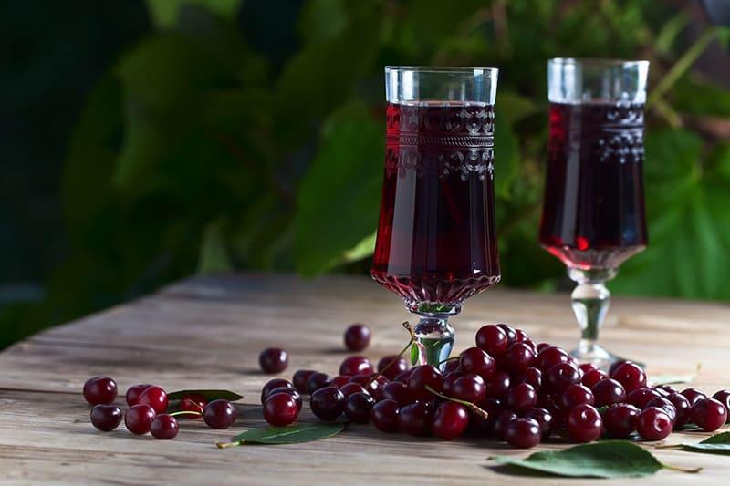 Вина из вишни
