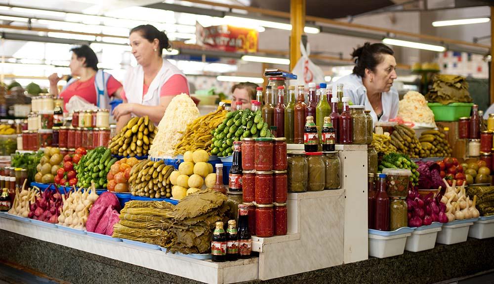 Дорогомиловский рынок с фермерскими продуктами