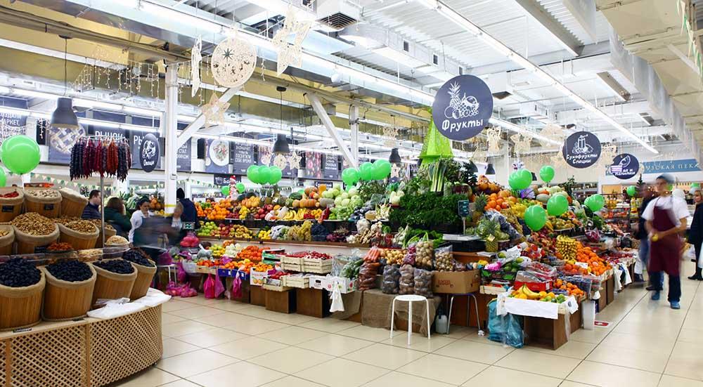 Экомаркет в Конькове с фермерскими продуктами