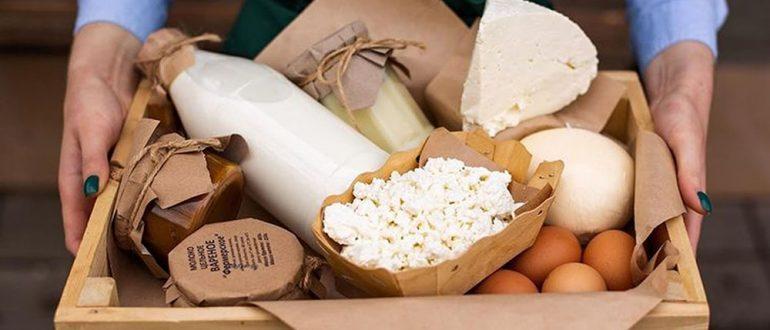 Фермерские продукты в Москве