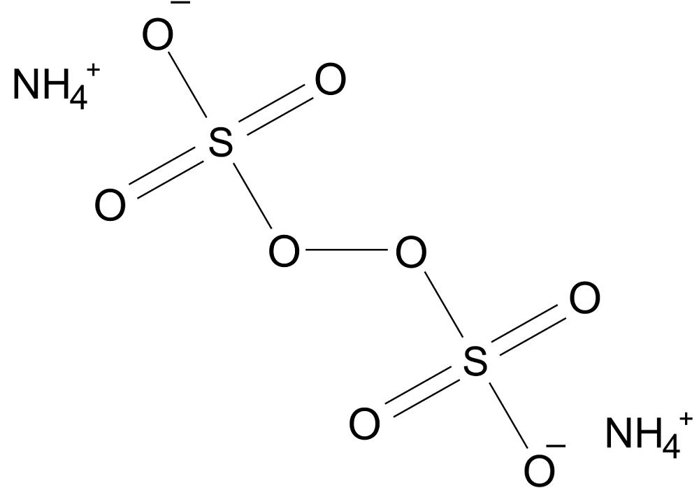 Формула персульфат аммония