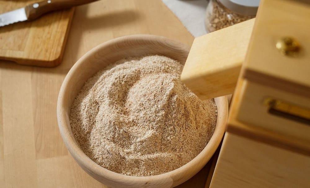 Перемол пшеницы на муку