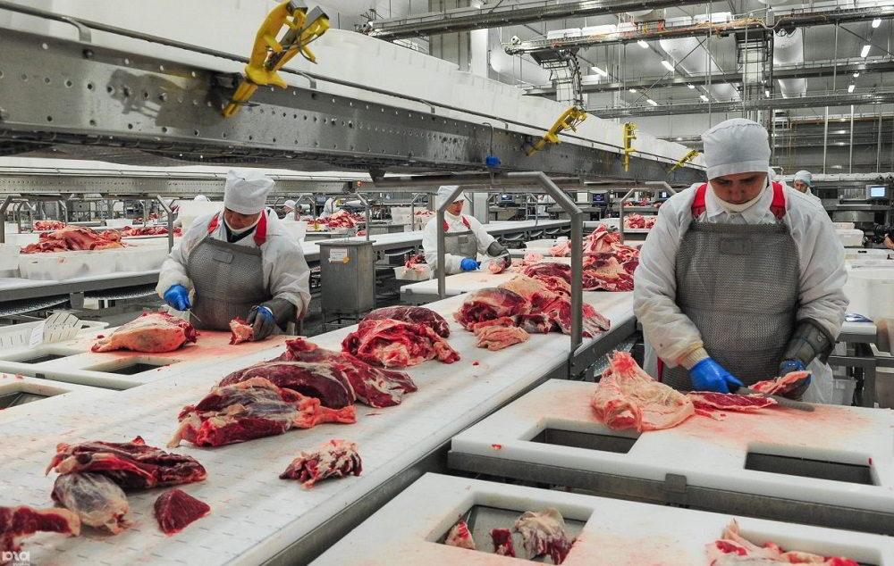 Подготовка промышленного мяса