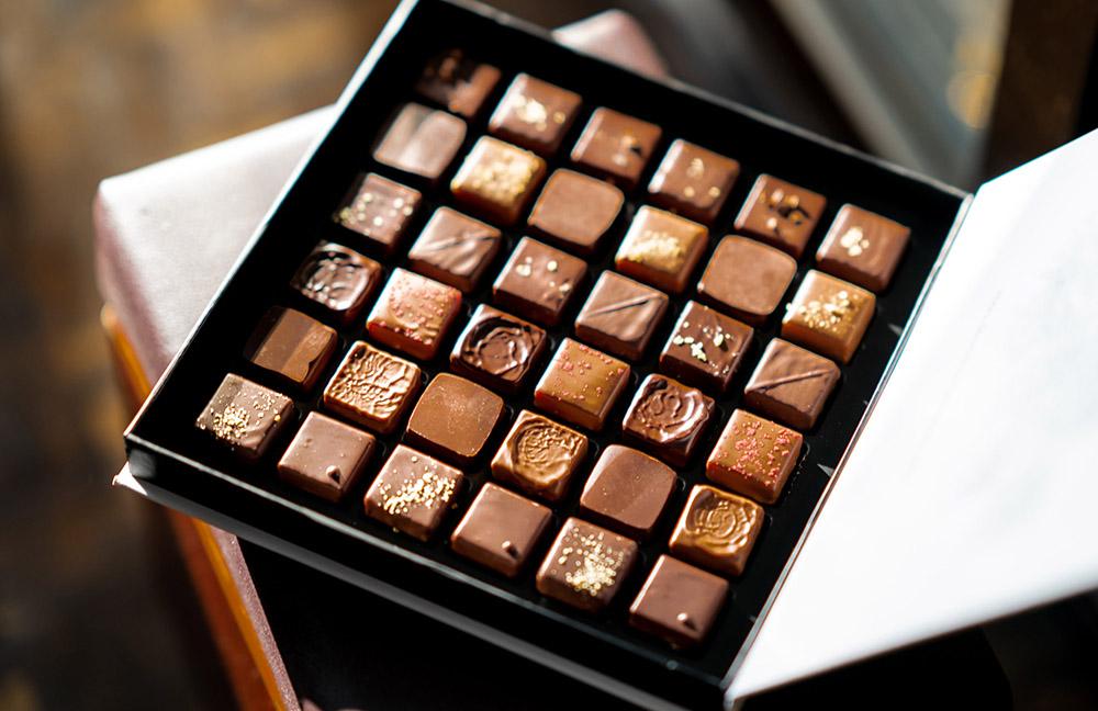Шоколадные конфеты дома