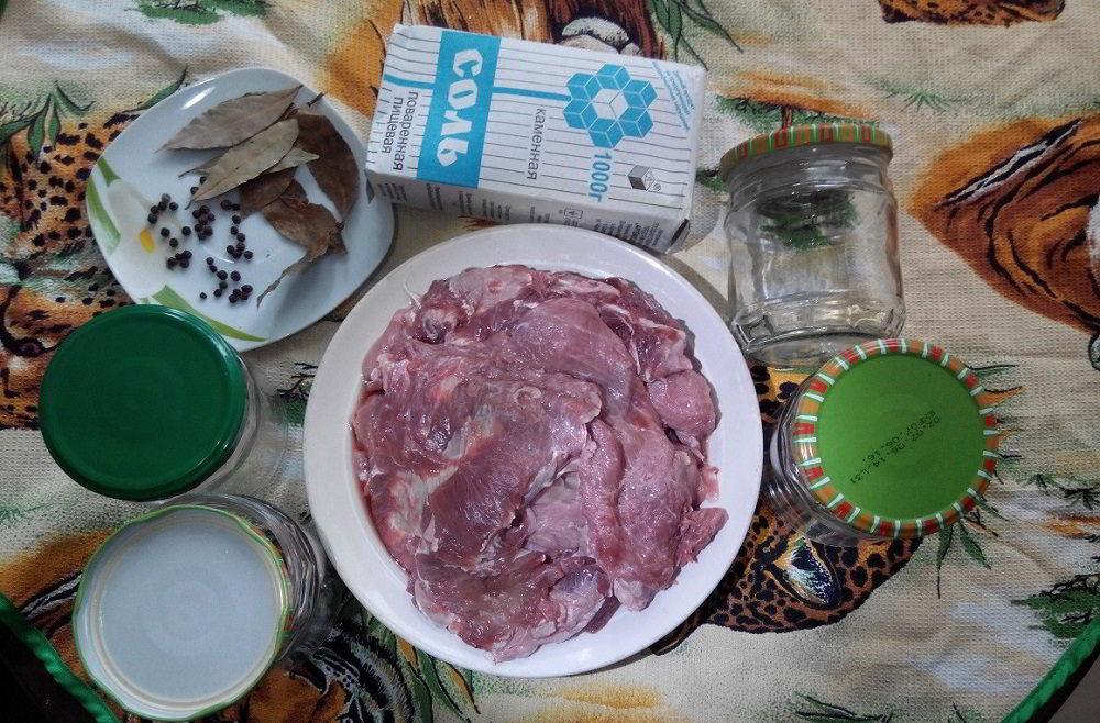 Состав говяжьей тушёнки в скороварке