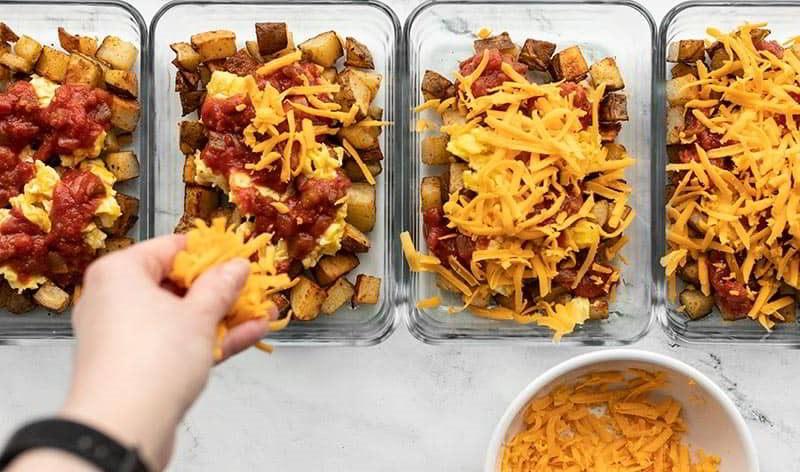 Сыр к картофелю с омлетом