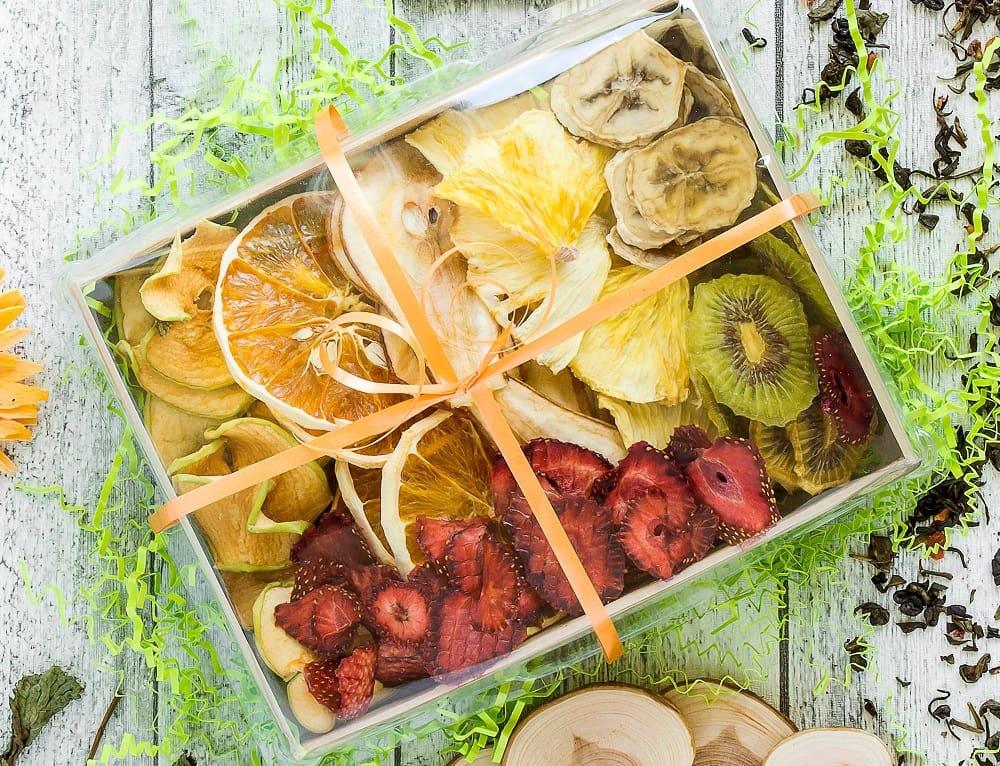Упаковка фруктовых чипсов