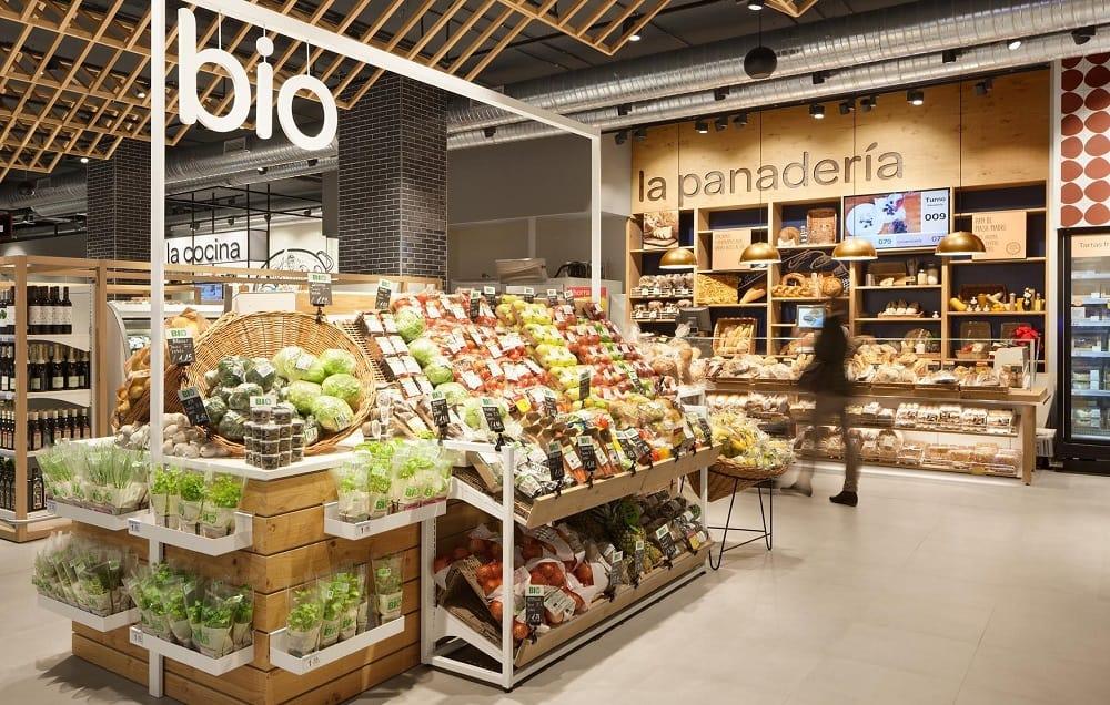 Выбор продуктов в эко-маркете