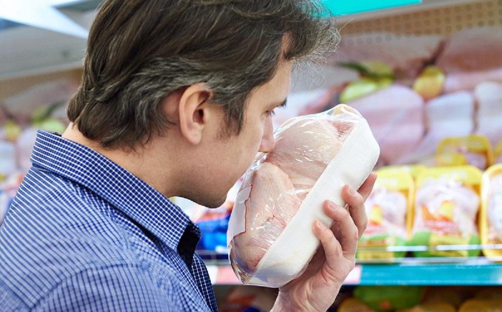 Запах мяса в магазине