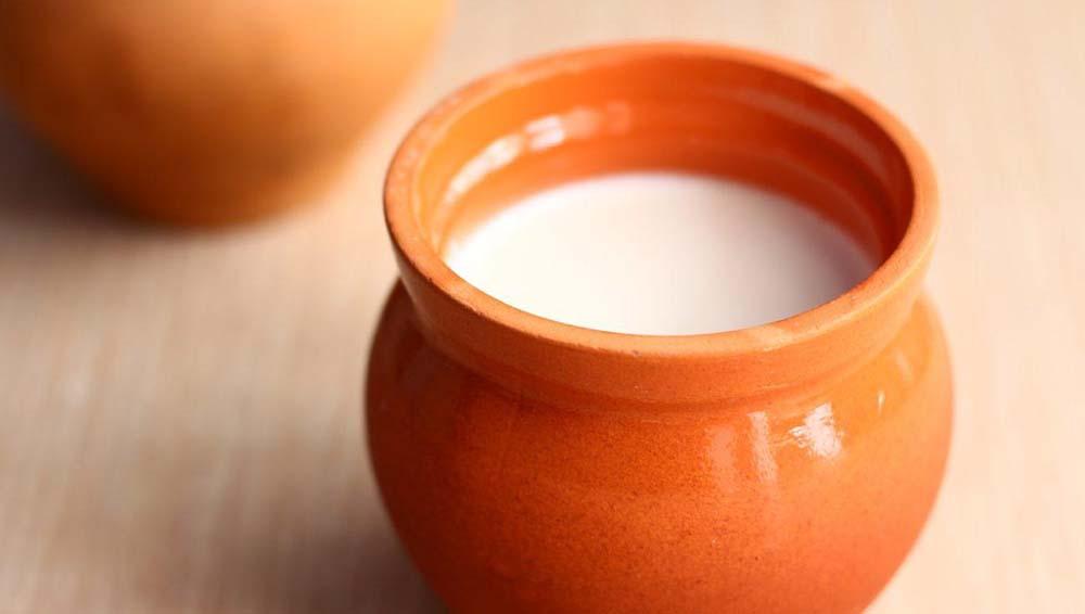 Молоко со сливками