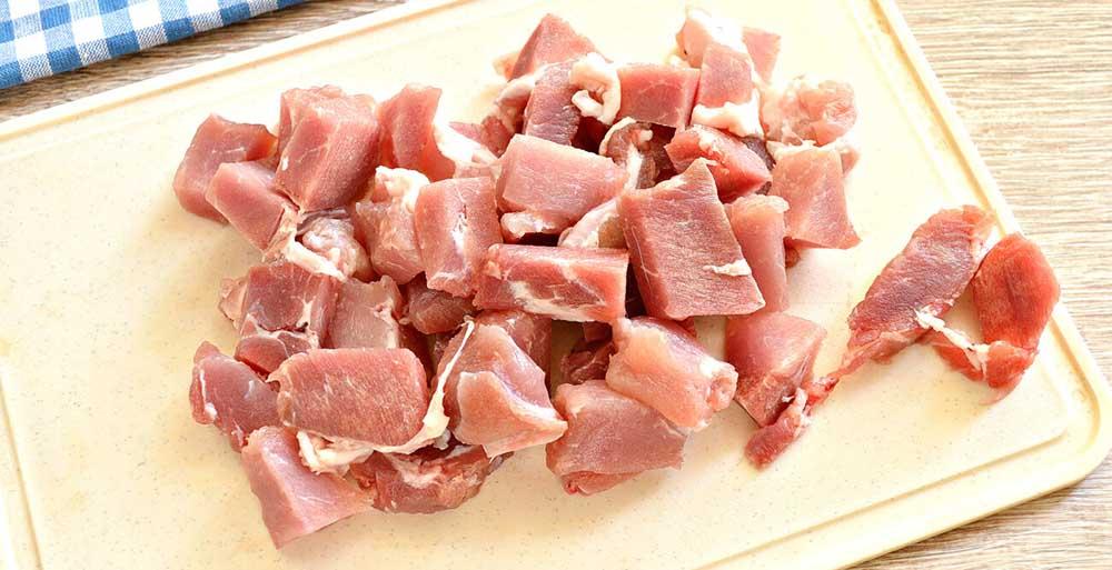 Мясо для гороха