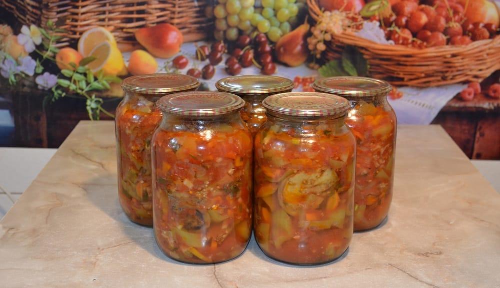 Овощи из автоклава