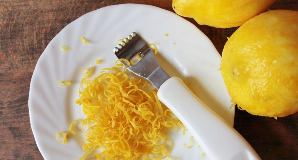 Цедра с лимона