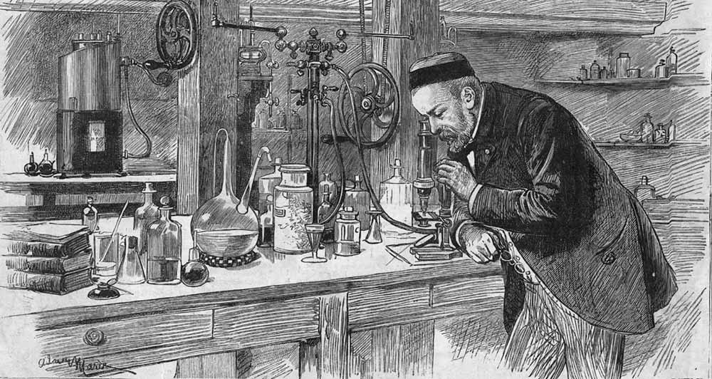 Учёный Луи Пастер