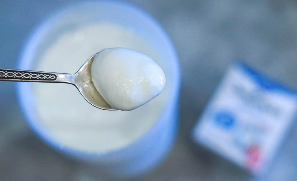 Йогурт без вкуса