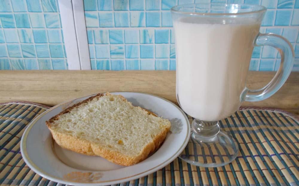 Молоко из микроволновки