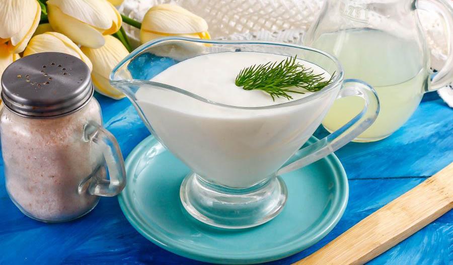 Сметана из козьего молока